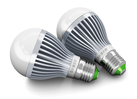 Creative power saving and energy conservation industry business ecological concept  photo