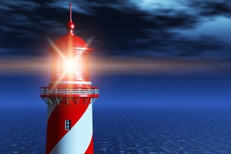 Kreative abstrakten Navigation Sicherheit Business-Konzept Standard-Bild