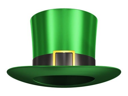 gentleman s: Creative abstract St  Patrick Stock Photo