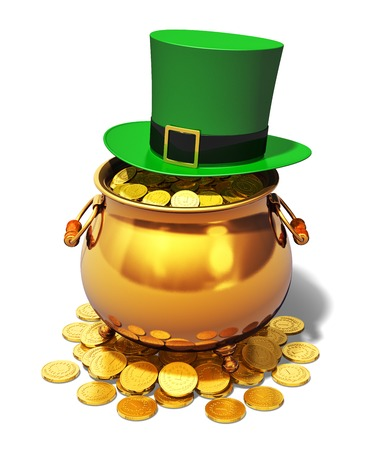 Creative abstract St  Patrick Stock Photo
