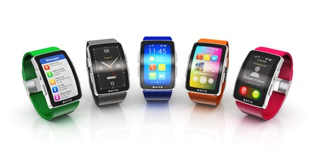 watch: Creative business mobility and modern mobile wearable device