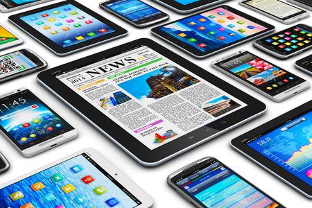 Movilidad abstracto creativo y digitales concepto de negocio de tecnología de comunicación inalámbrica