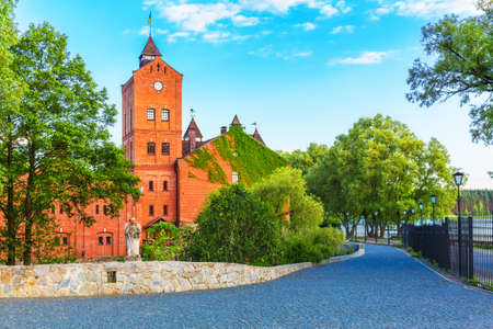 Scenic summer view of Radomysl, Ukraine Stock Photo