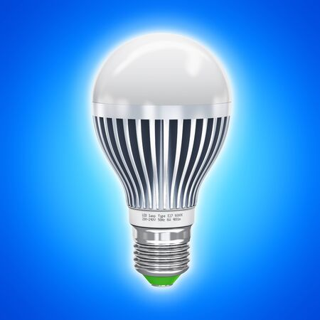 Creative abstract power saving and energy conservation industry business ecological concept Stock Photo