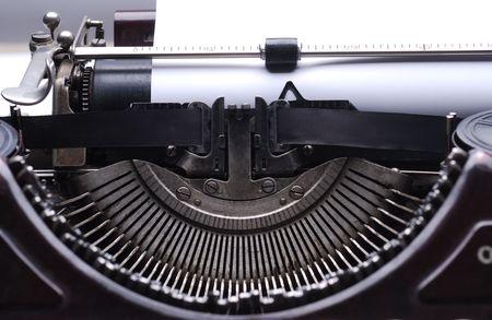 Writing machine photo