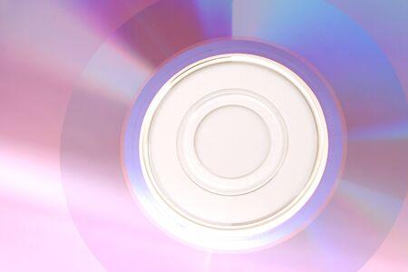DVD closeup
