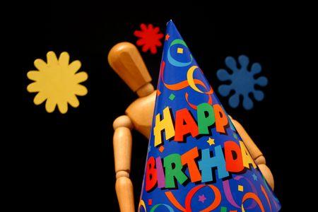 Birthday mannequin