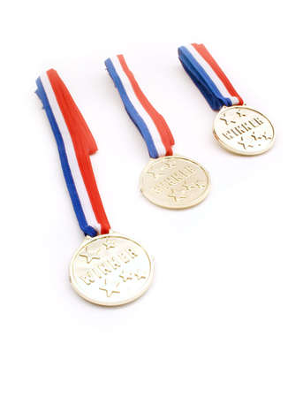 Prize Ribbons Stock Photo