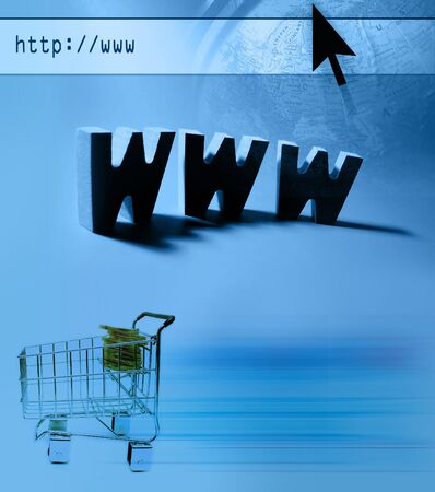 Internet themed design : E-commerce