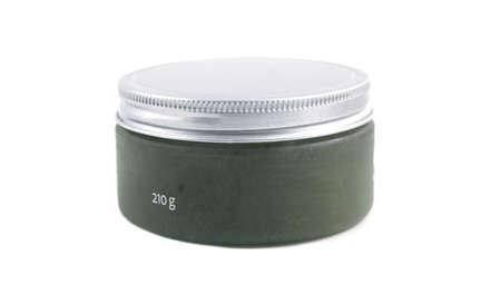 Container of body bath scrub