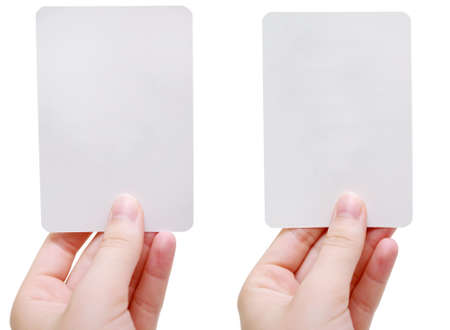 Blank flash cards Stock Photo - 1438223
