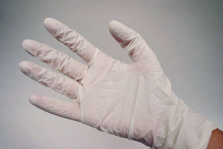 utiles de aseo personal: M�dico guantes