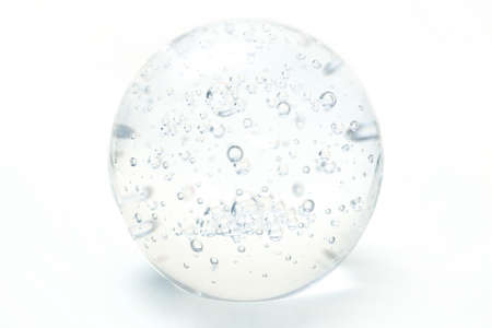 Glass orb with bubbles Stock Photo - 1438183