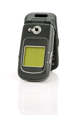 A celluar phone with a digital camera