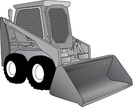 bobcat: maquinaria Vectores