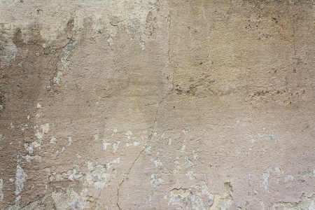 Old concrete wall covered with destroyed paint Stock Photo - 14421449