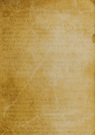 Old paper background with slightly visible text. Mysterious and magical.