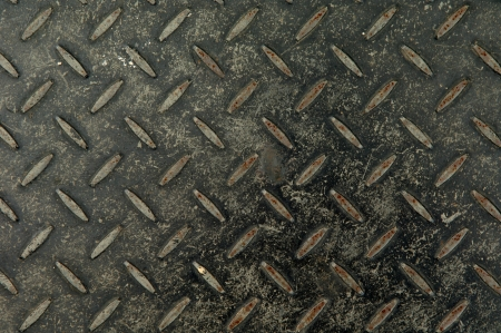 Checker plate steel Stock Photo - 14063677
