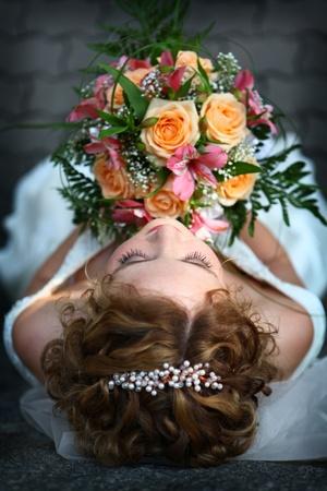 Jonge mooie bruid