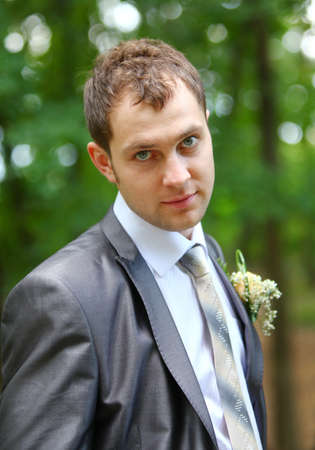 wail: Groom in the grey suit and scarf