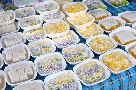 sweeties: Sweeties on market Stock Photo