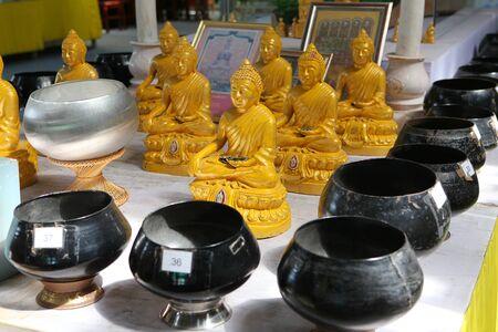 god box: Bid Buddha temple inside, Phuket, Thailand