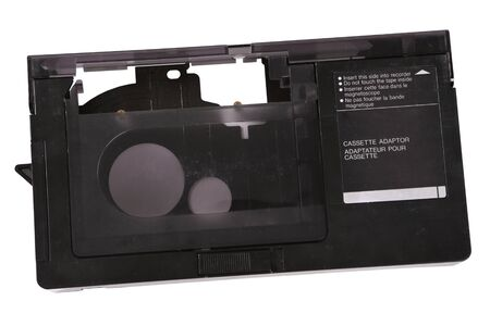 digitization: Video cassette adaptor for digitization of 16 mm cassette Stock Photo