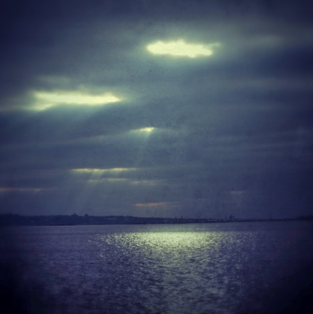 Divine view of the sunlight through a cloudy day
