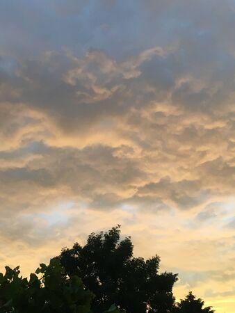 Bewolkte lucht Stockfoto - 84407066