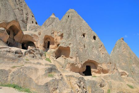 The photo was taken in Turkey. In the picture one of the many mysterious caves of Selimsky monastery in Cappadocia.