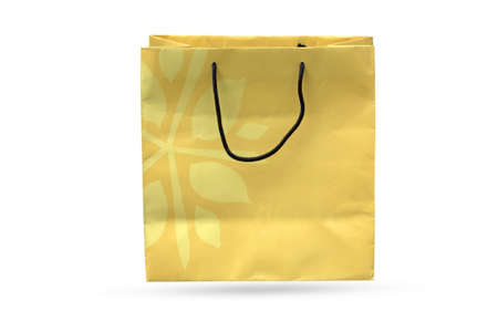 tout: Paper shopping bags to the grocery tout