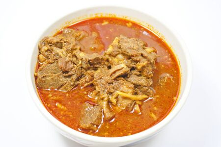 Pork curry dishes Northern Thailand photo