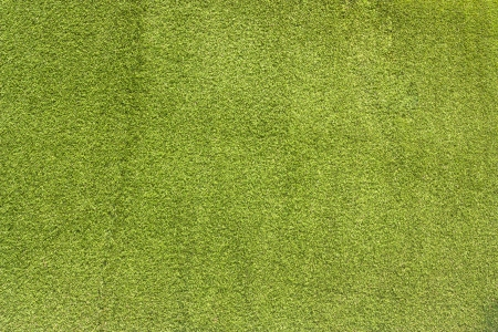 Artificial grass wall. Artificial turf. Thin green plastic. photo