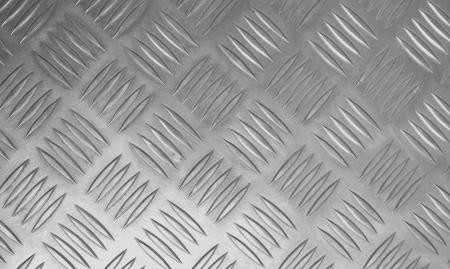 Rugged old anti-slip metal  floor  stainless steel. 写真素材