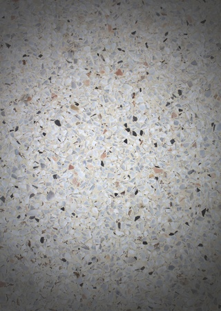 Terrazzo background image of terrazzo floor white. photo