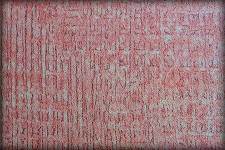 Paradoks: Ściana. Czerwone tło tkaniny paradoks informacji.