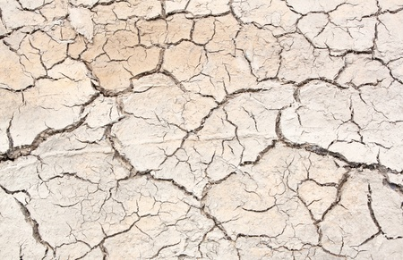 The crack in the earth climate aridity. Stock Photo
