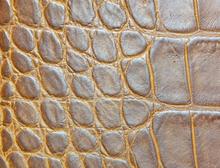 Yellow leather background or texture leather texture. photo