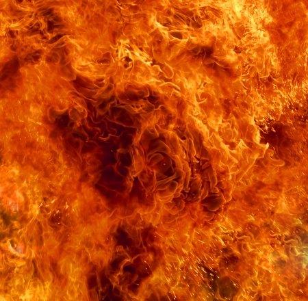 Background burning flame red yellow heat energy. Stock Photo - 23087987