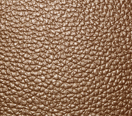 tooled: Brown textured leather background jagged walls and floors. Stock Photo