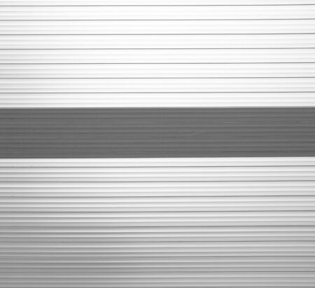 corrugated steel: Old Aluminum wall background texture abstract industry. Stock Photo