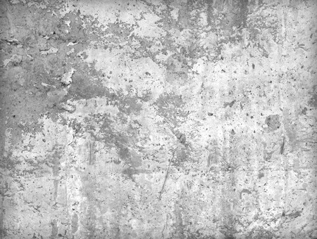dirty room: Cement walls weathered durability of the construction industry.