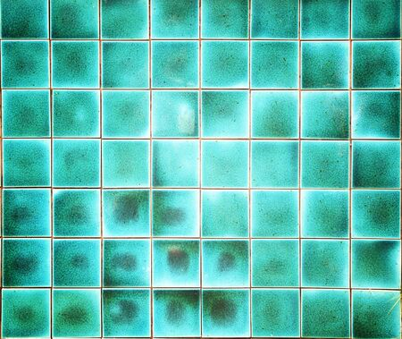 mosaic floor: wall and floor mosaic tiles in azure blue