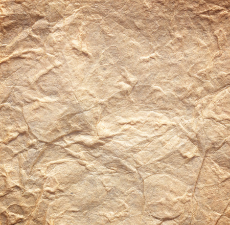 old paper background texture: Brown crumpled old paper background texture pattern. Stock Photo
