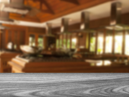 blurred Kitchen 写真素材
