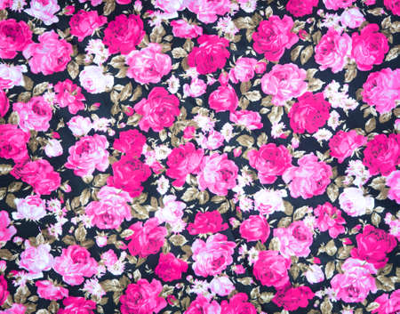 tapestry: Fragment of colorful retro tapestry textile pattern with floral ornament  Stock Photo