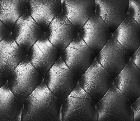 black leather texture: Black leather background or texture leather texture. Stock Photo