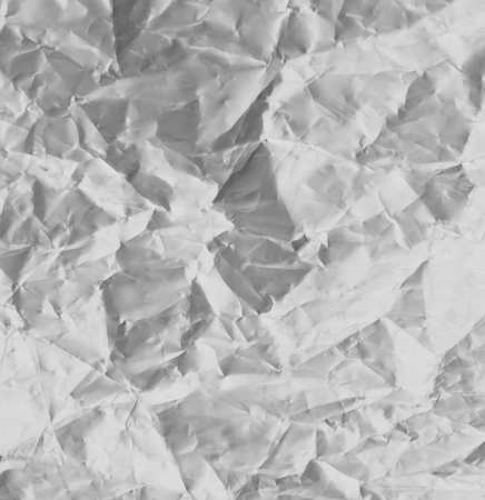 crumpled sheet: Crumpled sheet of aluminum. Abstract textured background Stock Photo