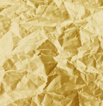 shiny gold: Shiny yellow leaf gold texture background sheet. Stock Photo