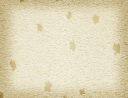 sackcloth: Linen fabric background gold Stock Photo
